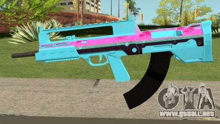 GTA Online Bullpup Rifle mk.2 Blue para GTA San Andreas