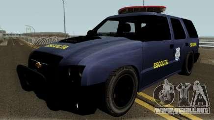 Chevrolet Blazer da SUSEPE para GTA San Andreas