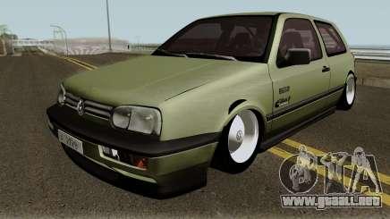 Volkswagen Golf MK3 Unmarked Army para GTA San Andreas