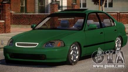 Honda Civic Tuning para GTA 4