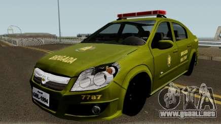 Chevrolet Vectra Elite Brigada Militar para GTA San Andreas