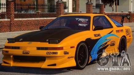 1992 Toyota Supra 3.0 Turbo PJ4 para GTA 4