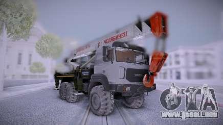 Ural M Grúa Uralspetstrans para GTA San Andreas