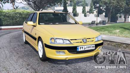 Peugeot Pars ELX 1999 [replace] para GTA 5