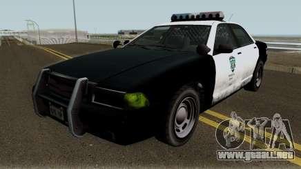 Police Stanier R.P.D. GTA V para GTA San Andreas