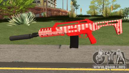 GTA Doomsday Heist Special Carbine Mk.2 Red para GTA San Andreas