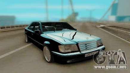 Mercedes-Benz W124 E500 Black para GTA San Andreas