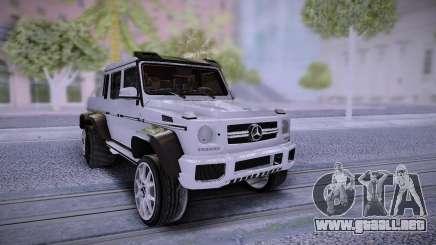 Mercedes-Benz G65 6X6 para GTA San Andreas