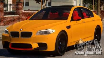 BMW M5 F10 Aige-edit V1.2 para GTA 4