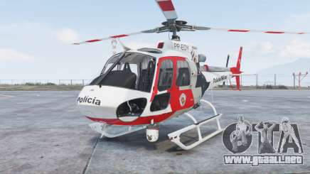 Helibras AS350 B2 Policia Militar [add-on] para GTA 5