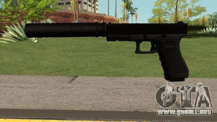 GLOCK-17 Black para GTA San Andreas