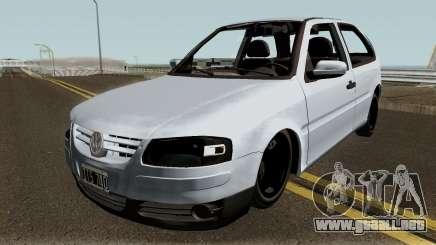 Volkswagen Gol G4 Grey para GTA San Andreas