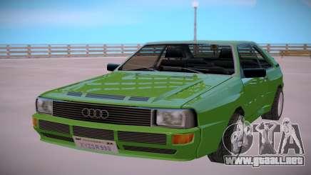 Audi Sport Quattro B2 Typ 85Q 83 para GTA San Andreas