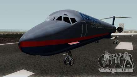 McDonnell Douglas MD-80 Aeromexico Old para GTA San Andreas