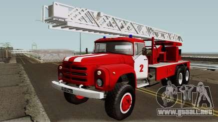 ZIL-133 TN Fuego camión escalera para GTA San Andreas