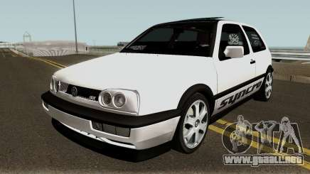 Volkswagen Golf 3 ABT VR6 Turbo Syncro para GTA San Andreas