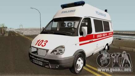 GAZ-3221 servicios de Ambulancia para GTA San Andreas