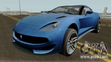 Grotti Sonicboom GTA V IVF para GTA San Andreas