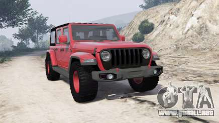 Jeep Wrangler Unlimited Rubicon 2018 [add-on] para GTA 5