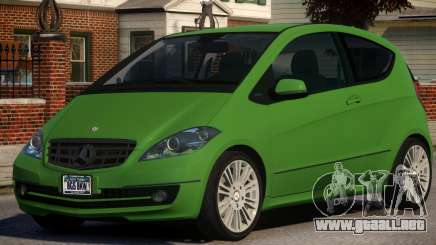 Mercedes Benz A 200 Turbo V1.3 para GTA 4
