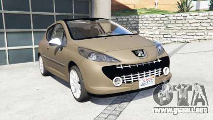 Peugeot 207 RC 2007 [add-on] para GTA 5