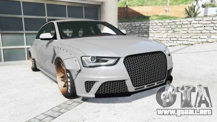 Audi RS 4 Avant (B8) 2013 LibertyWalk [replace] para GTA 5