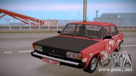 VAZ 2105 Tintados para GTA San Andreas