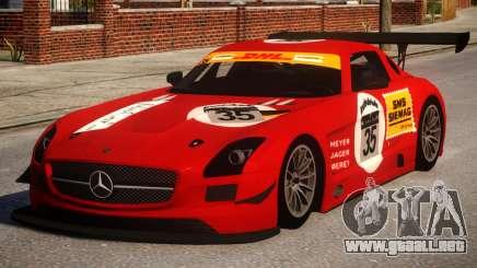 Mercedes-Benz SLS AMG PJ2 para GTA 4