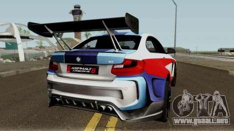 BMW M2 Special Edition From Asphalt 8: Airbone para la visión correcta GTA San Andreas