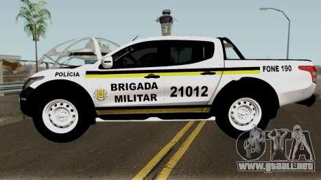 Mitsubishi Nova L-200 e Hilux da Brigada Militar para GTA San Andreas