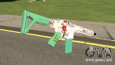 Carbine Mk.2 (Biohazard) GTA V para GTA San Andreas segunda pantalla