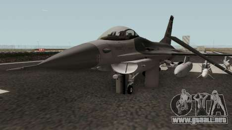 F-16C Fighting Falcon para GTA San Andreas