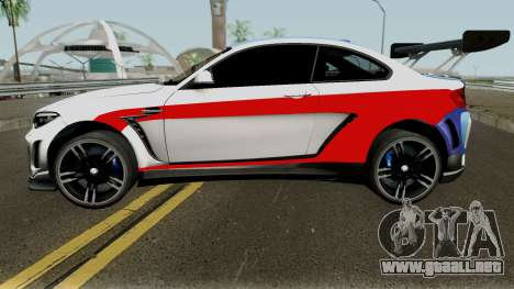 BMW M2 Special Edition From Asphalt 8: Airbone para GTA San Andreas left