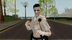 GTA Online Random Skin 5: Sahp Female Officer para GTA San Andreas