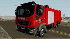 Iveco Trakker Pompieri - Romanian Firetruck para GTA San Andreas
