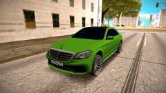 Mercedes-Benz S63 AMG Green para GTA San Andreas