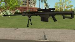 New Sniper Rifle Black para GTA San Andreas