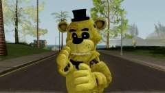 FNaF Golden Freddy para GTA San Andreas