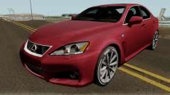 Lexus IS-F 2013 para GTA San Andreas