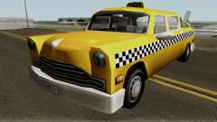 New Cabbie para GTA San Andreas