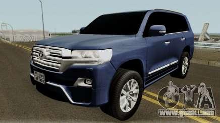 Toyota Land Cruiser VXR 2017 para GTA San Andreas