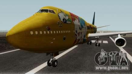 Boeing 747-400 ANA Pokemon Jet para GTA San Andreas
