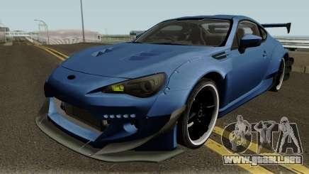 Subaru BRZ RocketBunny 2013 para GTA San Andreas