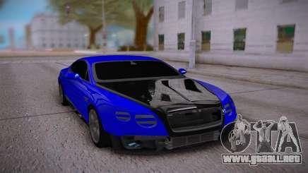 Bentley Continental Sport para GTA San Andreas