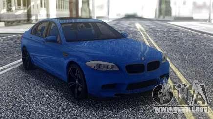 BMW M5 F10 Blue para GTA San Andreas
