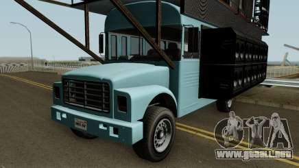 Vapid Festival Bus GTA V para GTA San Andreas