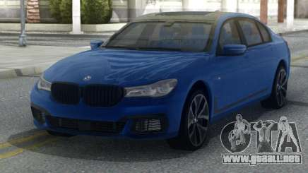 BMW M760LI 2018 para GTA San Andreas