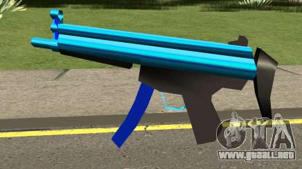 MP5 Blue para GTA San Andreas
