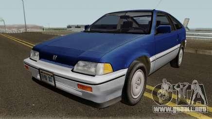 Honda CRX (84-87) para GTA San Andreas