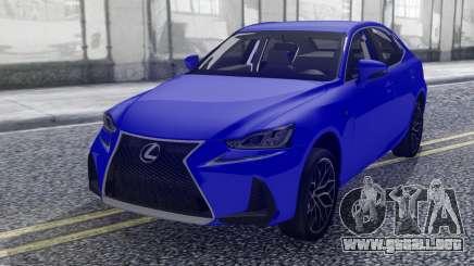 Lexus IS-F 2018 para GTA San Andreas